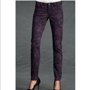 cabi twilight purple skinny jean 8